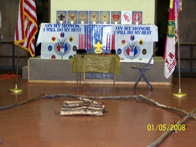 Eagle Scout Court of Honor Decorations